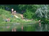 Северо-Крымский канал, Каховка, Таврийск, Новая Каховка, 17.06.13 г.Украина.