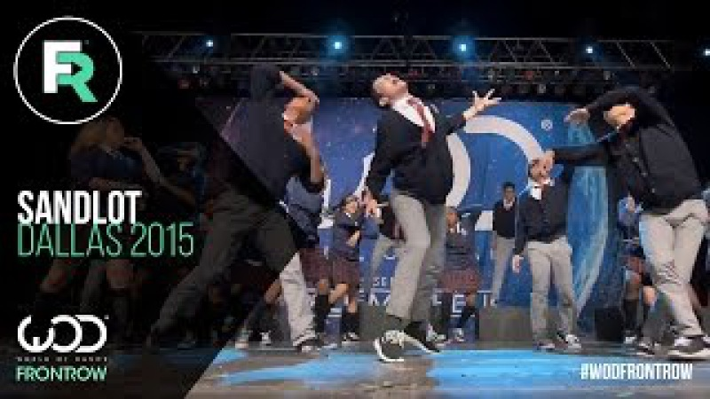 Sandlot | 2nd Place Youth Division | FRONTROW | World of Dance Dallas 2015 | WODDALLAS2015