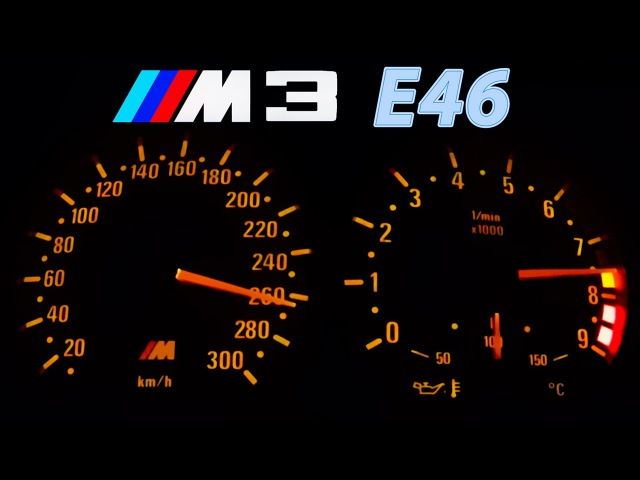 BMW M3 E46 Acceleration 0-270 Onboard Burnout Sound Beschleunigung Exhaust