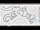 Отчерчивание чертежа от руки при помощи Corel Draw X5