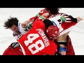 Драка в хоккее. Матч Россия - США. Hockey fight Russia - USA