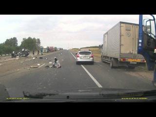 ДТП Лексус 570, Казань- Челны. Не пристегнутые дети.