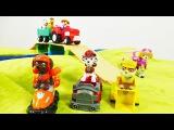Видео с игрушками. Щенячий патруль спешит на помощь фермеру. Видео для детей.