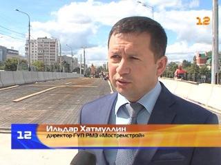 Строительство нового моста в Йошкар-Оле