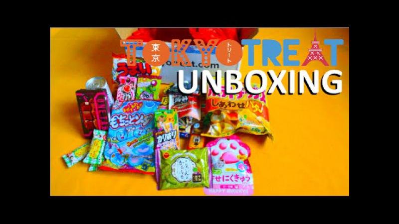 TokyoTreat Unboxing Июнь 2015 Больше сладостей