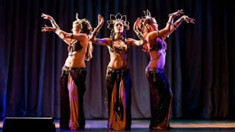 Roksana, Milana Lidia - temple tribal fusion trio @ Tribal Blossom Show
