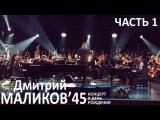 Дмитрий Маликов - 45'. Концерт в день рождения. часть 1