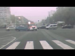Таран пожарной машины Винница.