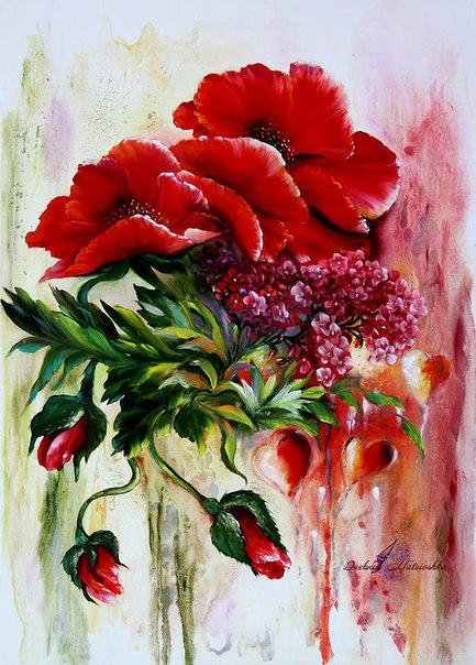 Мастер класс цветы на мыле