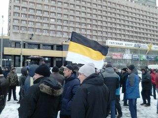 Русские националисты Балахны поддержали протест дальнобойщиков