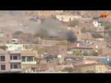 Дерик (сирийские курды), вблизи границы с Турцией, 5 день идут атаки турецких войск с применением вертолетов. Сирия.