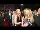 Jennifer Lawrence  Natalie Dormer неожиданный поцелуй