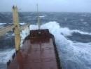 Шторм и его последствия. Атлантический океан.