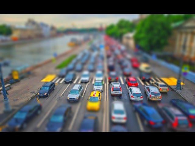 Tilt-Shift Эффект миниатюры в фотошоп (НОВИНКА!)
