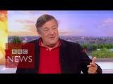 Stephen Fry Addiction, Al Pacino, Robin Williams &amp Philip Seymour Hoffman - BBC News