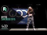 Dytto FRONTROW World of Dance San Diego 2015 #WODSD15