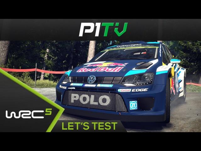 WRC 5 - Lets Test / First Look | WRC 5 FIA World Rally Championship [TX 599XX] [PC]