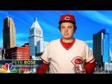 Tonight Show Extra Pete Rose Explains His Donald Trump Endorsement