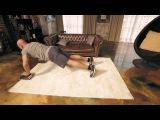 Упражнения для грудных мышц: глубокие отжимания | Домашние тренировки с Денисом Семенихиным #6