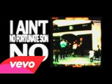 Creedence Clearwater Revival - Fortunate Son (Lyric Video)