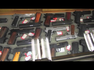АМЕРИКА #292 магазин оружия Sols  как купить пистолет в США HD