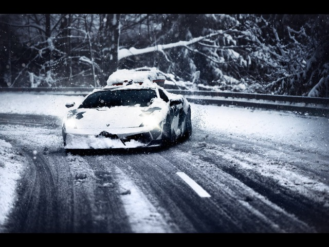 LAMBOS LOVE SNOW
