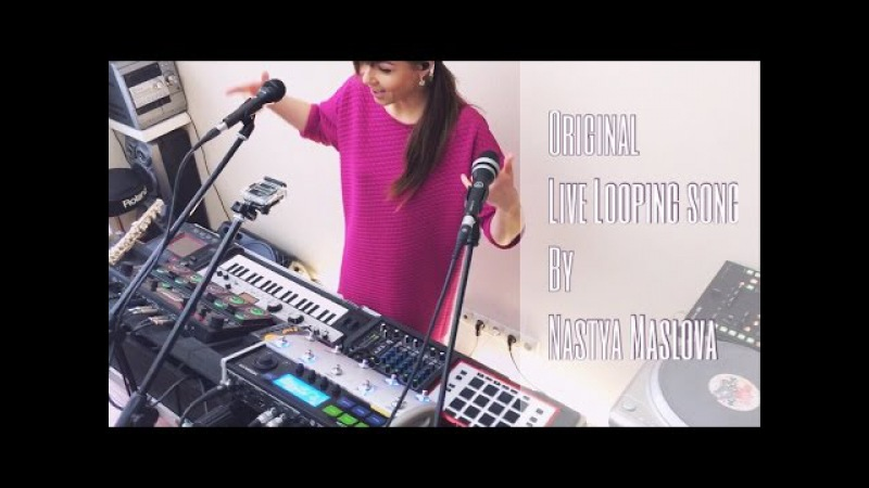BOSS RC-505 - Live Looping by Nastya Maslova