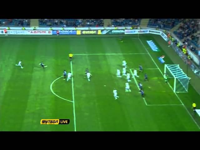 Черноморец - Днепр (2-1) все голы,1\2 кубка Украины 2012\2013 , матч 08.05.2013