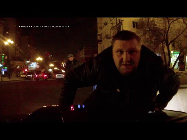Погоня в Хабаровске, Задержание.