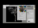Tutorial snow material, snow shading, snow covered trees, mountains in 3ds max Basic setup