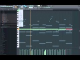 FL Studio 12 808 Mafia Trap Piano Chord Melody Tutorial
