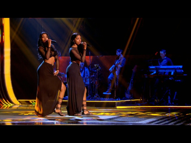 DTwinz perform Shy Guy - The Voice UK 2015 Blind Auditions 4 - BBC One