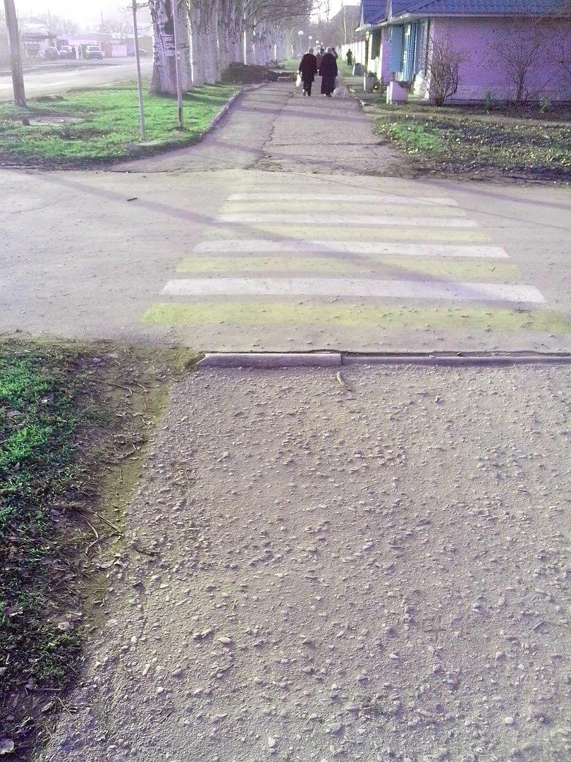 На улице Гайдара появился пешеходный переход