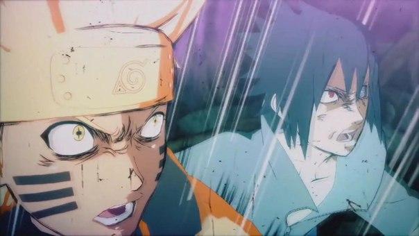 Последняя серия Naruto Shippuuden ( Наруто против Саске - финальная битва)