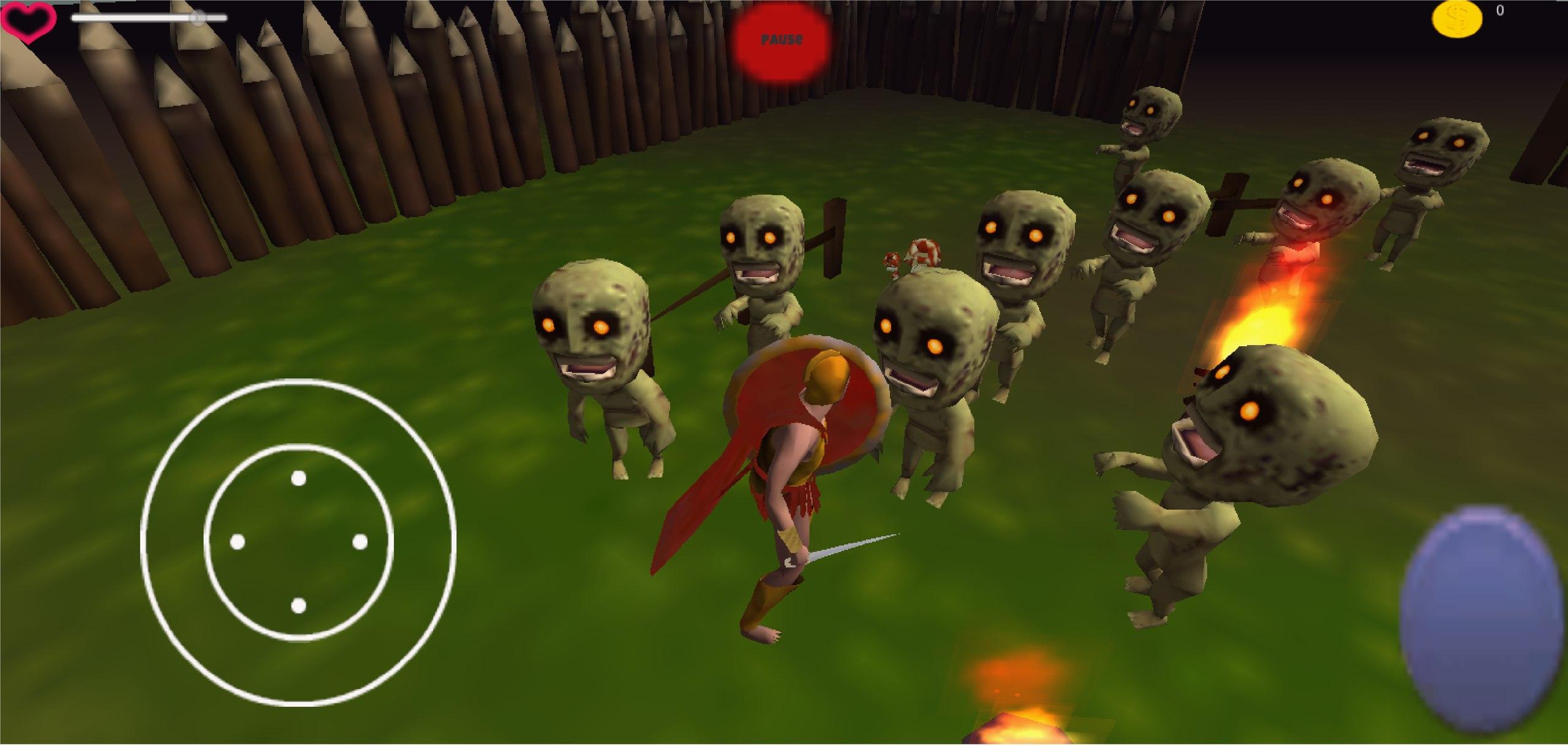 Zombie camp!WoW)