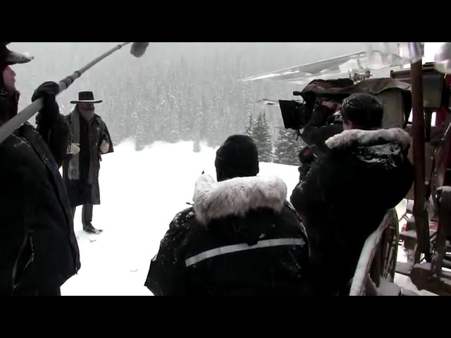 The Hateful Eight Behind the Scenes Movie Broll Quentin Tarantino Samuel L Jackson