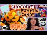 DIY Chocolate Pumpkin Candy Bowls  | Halloween Treats | BALLOON BOWLS