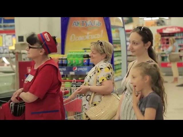 Калинка Малинка в Торговом центре Russian song Kalinka Malinka at mall by choir