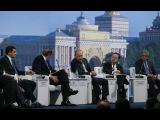 Интервью Владимира Путина на ПМЭФ-2015
