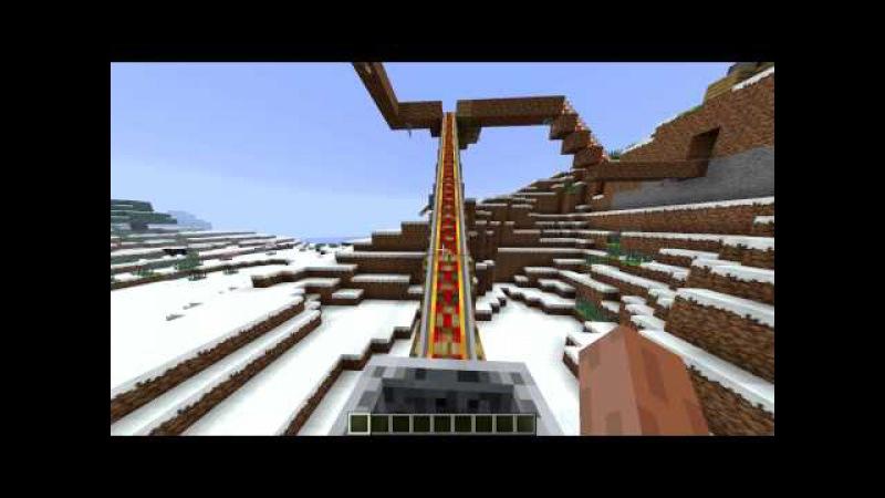Копия видео Моя первая рабочая постройка в Майнкрафте (ЛифтПодъём)