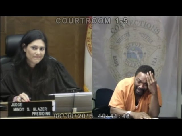 AWKWARD: Miami Judge RECOGNIZES Defendent From MIDDLE SCHOOL!!