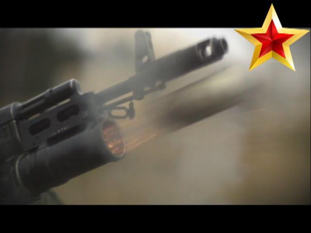 Стрельба из ГП-25 Костёр. GP-25 Kostyor (Bonfire) HD slow motion