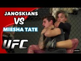 FIGHTING A WOMAN UFC FIGHTER (Miesha Tate)
