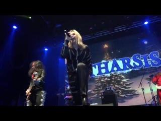 CATHARSIS / Снег кружится, летает, летает / LIVE (Москва, YotaSpace, 01.01.16)