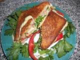 Горячие бутерброды, простые рецепты