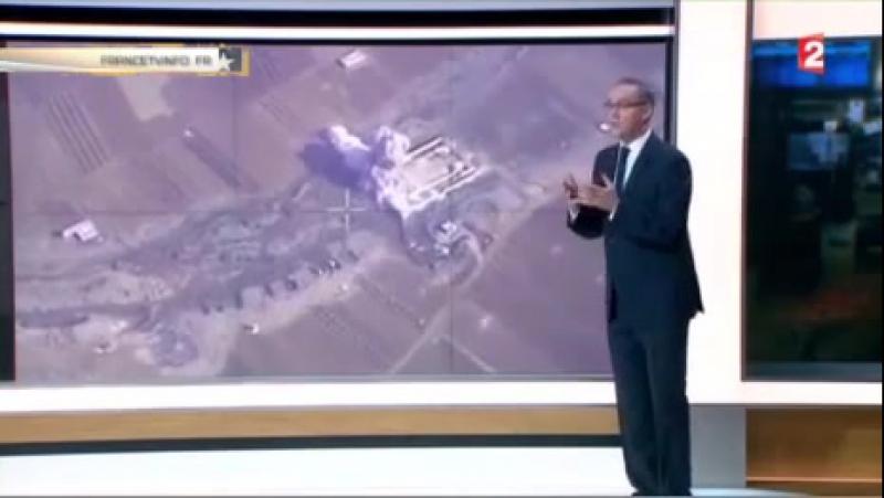 Канал France 2 проиллюстрировал «успехи» французской авиации в Сирии кадрами ВКС РФ
