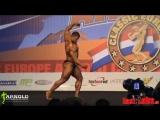 Vitaly Fateev ( Виталий Фатеев ) free poses routine at Arnold Classic Europe 2014