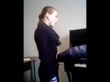 урок вокала смешинка в рот:D