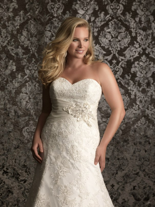 OhPaEaO62zQ - Свадебные платья Allure Bridals коллекции 2016