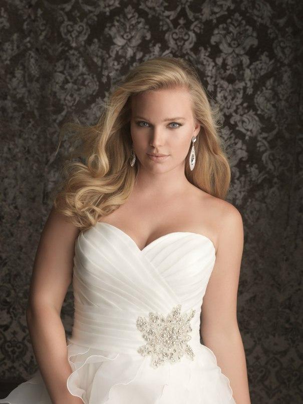 1 rLcA0bPmk - Свадебные платья Allure Bridals коллекции 2016